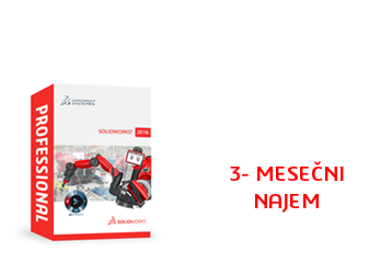 SOLIDWORKS Professional Term License - 3 Month