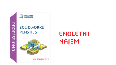 SOLIDWORKS Plastics Professional Term License - 1 Year