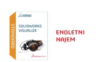 SOLIDWORKS Visualize Standard Term License - 1 Year