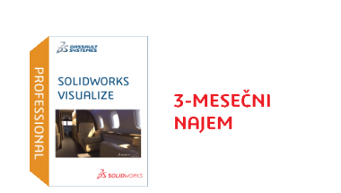 SOLIDWORKS Visualize Professional Term License - 3 Month