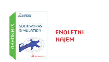 SOLIDWORKS Simulation Standard Term License - 1 Year