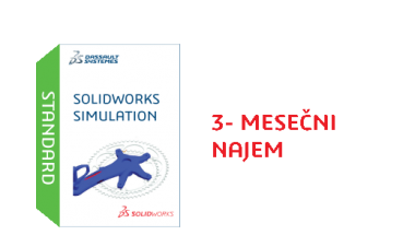 SOLIDWORKS Simulation Standard Term License - 3 Month
