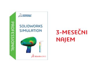 SOLIDWORKS Simulation Professional Term License - 3 Month