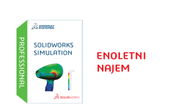 SOLIDWORKS Simulation Professional Term License - 1 Year