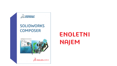 SOLIDWORKS Composer Term License - 1 Year
