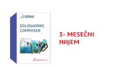 SOLIDWORKS Composer Term License - 3 Month