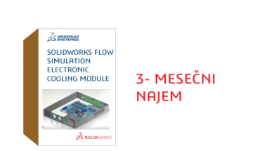 SOLIDWORKS Flow Simulation Electronic Cooling Module Term License - 3 Month
