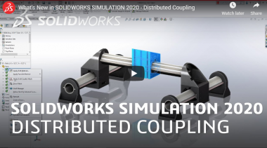 SOLIDWORKS SIMULATION 2020 - Distributed Coupling