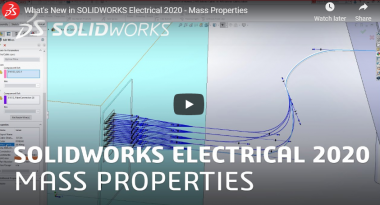 SOLIDWORKS Electrical 2020 - Mass Properties