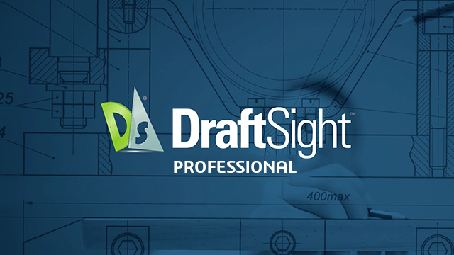 draftsight professional 2019 logo