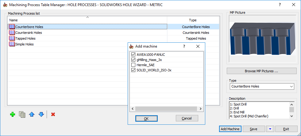 blog solidcam hole wizard 3